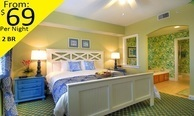 Universal Studios area resort condo 5 day 4 night rental includes a $ 5 0 credit towards Disney or Universal tickets with park shuttles sleeps up to 8 ~ resort 2 bedroom condo